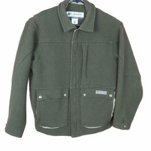 Columbia Vintage wool men's coat